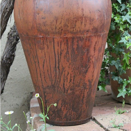 Outdoor olive pot