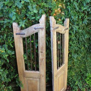 Vintage wooden gate