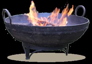 Kadai fire pit