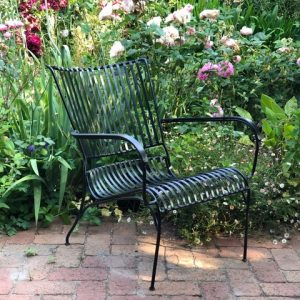 chair in a garden