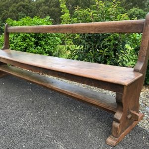 wooden bench for child
